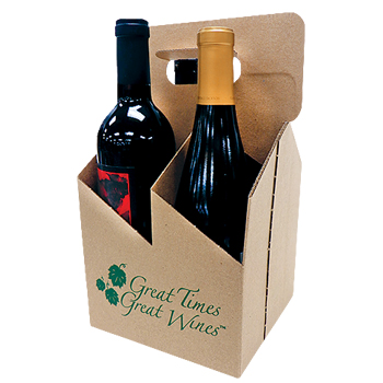 Kraft Wine Carrier