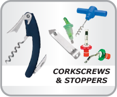 CORKSCREWS & STOPPERS